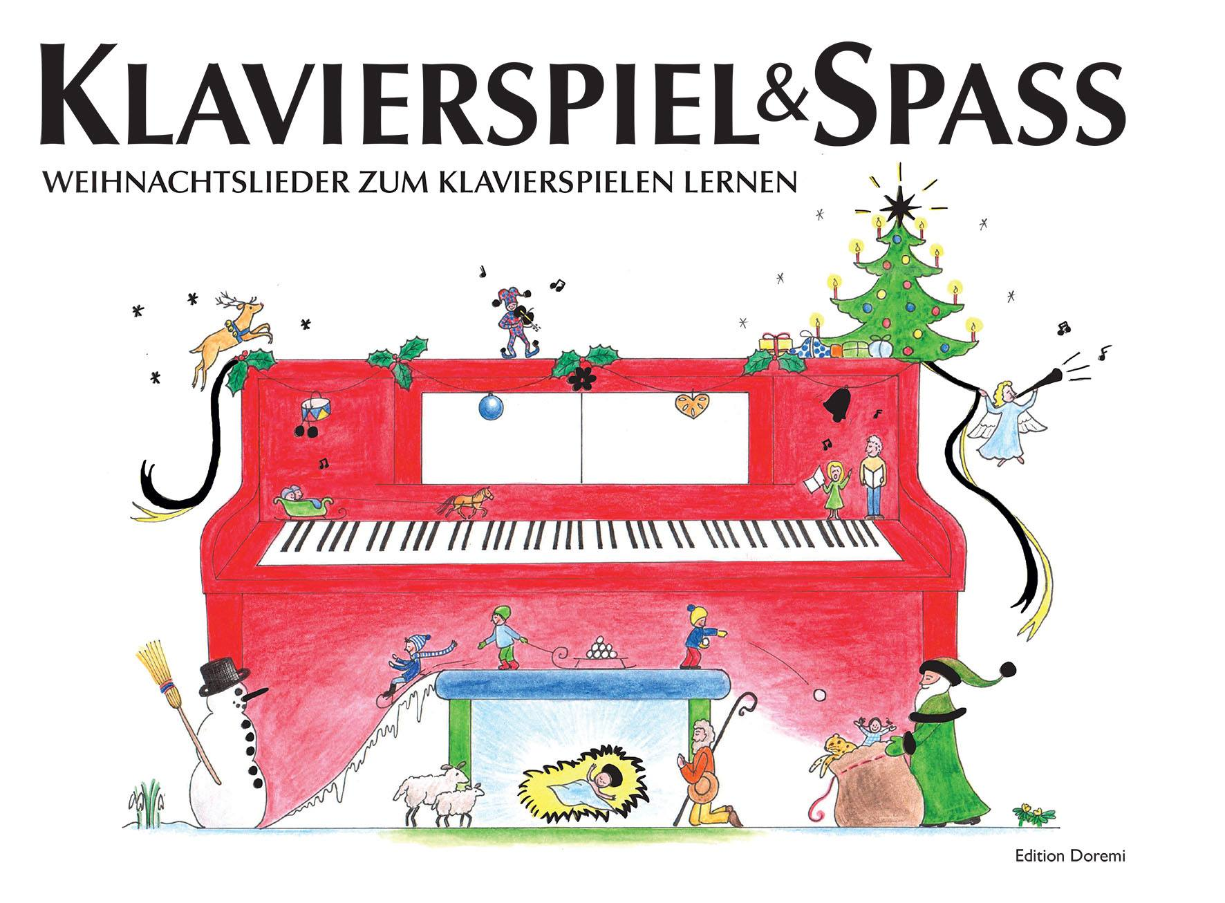 Weihnachtslieder Für Erwachsene.Klavierspiel Spaß